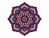 Mandala flor de la concentração