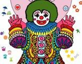 Desenho Palhaço disfarçado pintado por bruna94