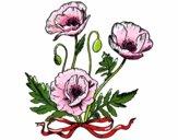 Desenho Umas papoilas pintado por bruna94