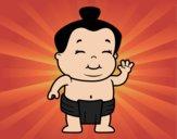 Menino sumo