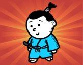Samurai criança