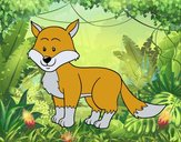 Uma raposa