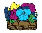 Desenho Cesta de flores 12 pintado por LEHTY