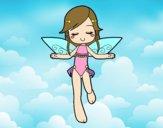Fada a voar