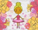Desenho Um dançarino de bailado pintado por lywya12