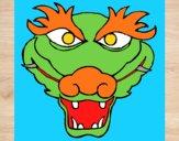 Desenho Dragão 5 pintado por ckirito