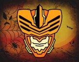 Desenho Máscara homem mosca pintado por ckirito