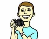 Menino com a câmera