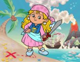 O menina pirata