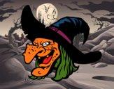 Cabeça de bruxa