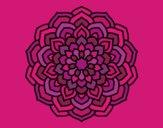 Desenho Mandala pétalas de flores pintado por yasmimramo