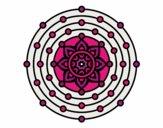 Desenho Mandala sistema solar pintado por yasmimramo