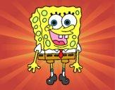 SpongeBob alegre