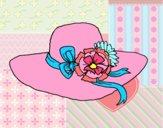 Chapéu por flores