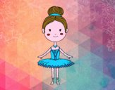 Um dançarino de bailado