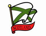 Bandeira da Escócia