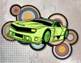 Desenho Carro desportivo veloz pintado por JCalsolari