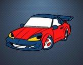 Desenho Carro desportivo com aileron pintado por ROSE123