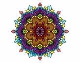 Mandala flash floral