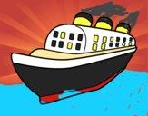 Navio transatlântico
