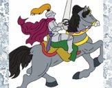 Cavaleiro a cavalo