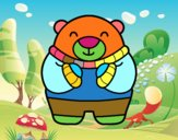Urso em inverno