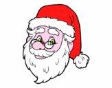Desenho Cara de Santa Claus pintado por heikroni