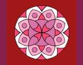 Desenho Mandala 13 pintado por ceciliaz