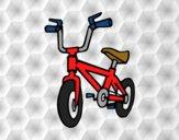 Desenho Bicicleta infantil pintado por Luisinho