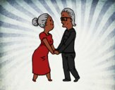 Avós amorosos