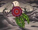 Desenho Catasonhos indiano pintado por ceciliaz