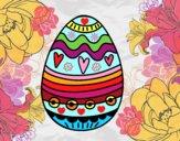 Desenho Decoração de ovos de Páscoa pintado por Giovannamg