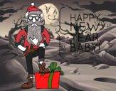 Desenho Santa Claus fantástico pintado por biiamaia