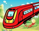 Desenho Comboio de alta velocidade pintado por Giovannamg