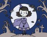 Desenho Dia do Halloween pintado por Craudia