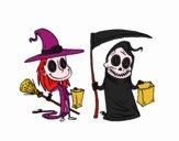 Doce ou travessura do Halloween