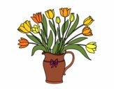 Jarro de tulipa
