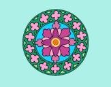 Desenho Mandala 21 pintado por Craudia