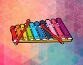 Um xilofone
