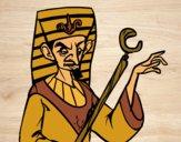 Desenho Faraó aborrecido pintado por NathaQueen
