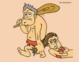 Desenho Matrimónio homo sapiens pintado por Craudia