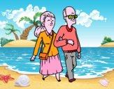Desenho Dos avós pintado por ManuelF