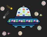 UFO voando