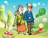 Desenho Dos avós pintado por Craudia