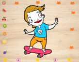 Um skater