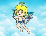 Cupido com seu arco mágico