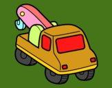 Guindaste veículo