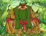 Desenho Rei da floresta pintado por Craudia
