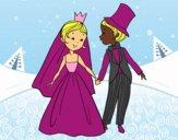 Desenho Um casamento Real pintado por MillySilva