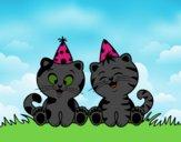 Gatos de aniversário